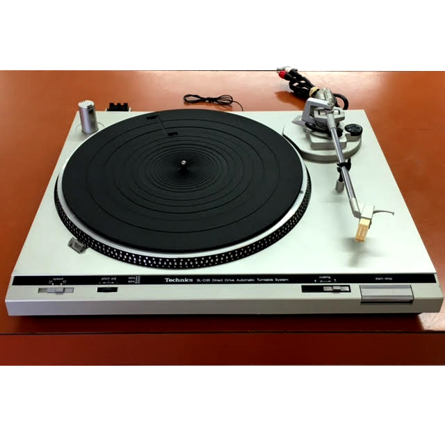 Technics SL-D35 Plays 33's/45's: $220.00 Plus Shipping And Handling.